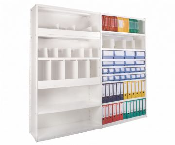 Delta Plus White Shelving